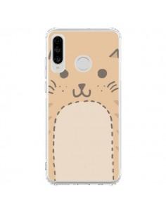 Coque Huawei P30 Lite Big Cat chat - Santiago Taberna