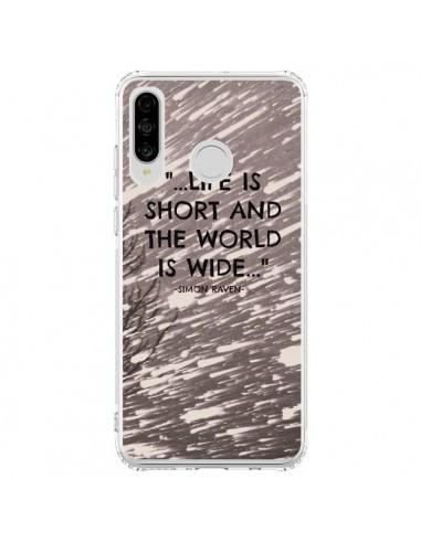 Coque Huawei P30 Lite Life is short Foret - Tara Yarte