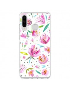 Coque Huawei P30 Lite Painterly Waterolor Texture - Ninola Design