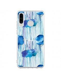 Coque Huawei P30 Lite Rain Stitches Neon - Ninola Design