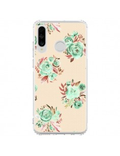 Coque Huawei P30 Lite Sweet Kisses Pink Lips - Ninola Design