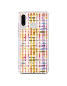 Coque Huawei P30 Lite Vichy Black Yellow - Ninola Design