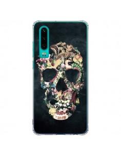 Coque Huawei P30 Skull Vintage Tête de Mort - Ali Gulec