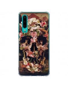 Coque Huawei P30 Jungle Skull Tête de Mort - Ali Gulec