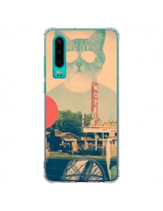 Coque Huawei P30 Chat Fashion The Cat - Ali Gulec