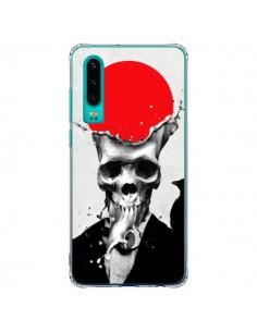 Coque Huawei P30 Splash Skull Tête de Mort - Ali Gulec