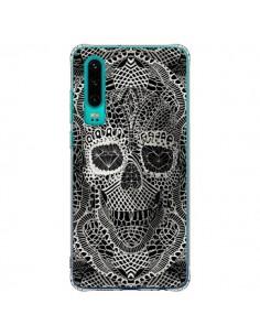 Coque Huawei P30 Skull Lace Tête de Mort - Ali Gulec