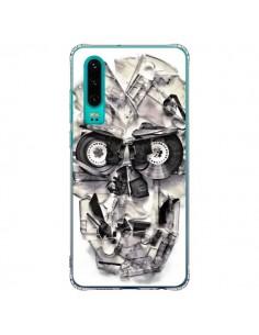 Coque Huawei P30 Tape Skull K7 Tête de Mort - Ali Gulec