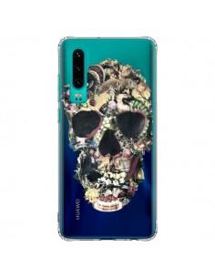 Coque Huawei P30 Skull Vintage Tête de Mort Transparente - Ali Gulec