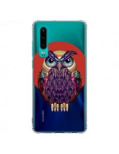 Coque Huawei P30 Chouette Hibou Owl Transparente - Ali Gulec