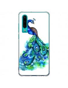 Coque Huawei P30 Paon Multicolore - Annya Kai