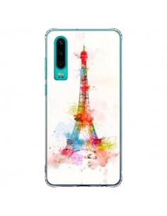 Coque Huawei P30 Paris Tour Eiffel Muticolore - Asano Yamazaki