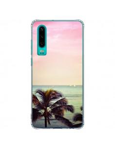 Coque Huawei P30 Sunset Palmier Palmtree - Asano Yamazaki