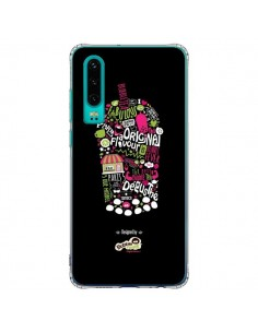 Coque Huawei P30 Bubble Fever Original Flavour Noir - Bubble Fever