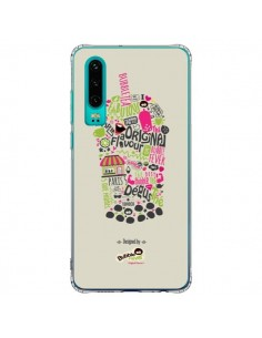 Coque Huawei P30 Bubble Fever Original Flavour Beige - Bubble Fever
