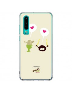 Coque Huawei P30 Oeuf a la Coque Bubble Fever - Bubble Fever