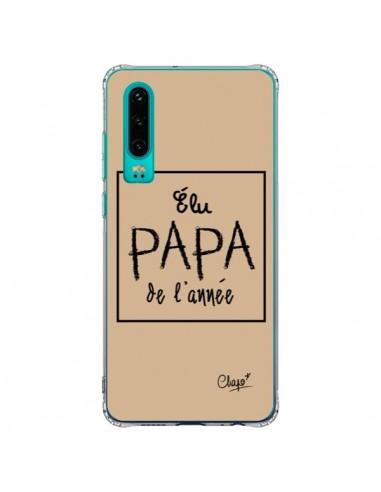 Coque Huawei P30 Elu Papa de l'Année...