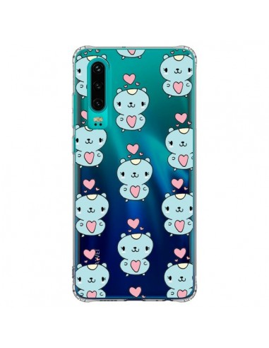 Coque Huawei P30 Hamster Love Amour...