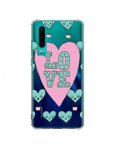 Coque Huawei P30 Love Nuage...