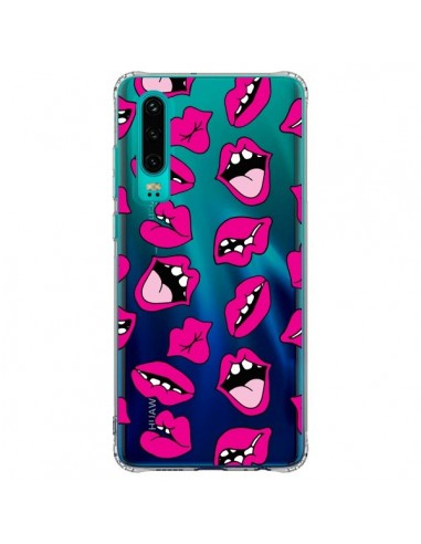 Coque Huawei P30 Lèvres Lips Bouche...