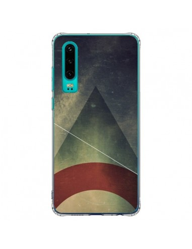 Coque Huawei P30 Triangle Azteque -...