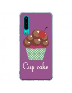 Coque Huawei P30 Cupcake Cerise Chocolat - Léa Clément