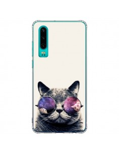 Coque Huawei P30 Chat à lunettes - Gusto NYC