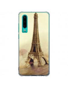 Coque Huawei P30 Tour Eiffel Vintage - Irene Sneddon