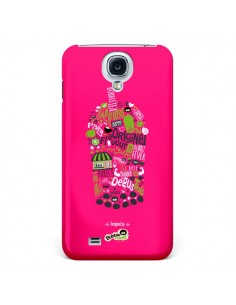Coque Bubble Fever Original Flavour Rose pour Galaxy S4 - Bubble Fever