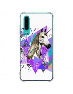 Coque Huawei P30 Licorne Unicorn Azteque - Kris Tate