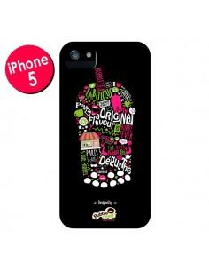 Coque Bubble Fever Original Flavour Noir pour iPhone 5 et 5S - Bubble Fever