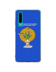 Coque Huawei P30 L'argent ne pousse pas dans les plantes - Leellouebrigitte