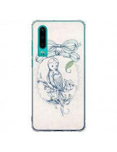 Coque Huawei P30 Bird Oiseau Mignon Vintage - Lassana