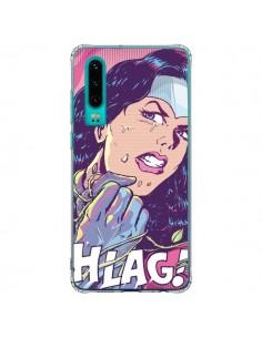 Coque Huawei P30 Girl Shlag Comics BD - Lassana