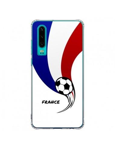 Coque Huawei P30 Equipe France Ballon...