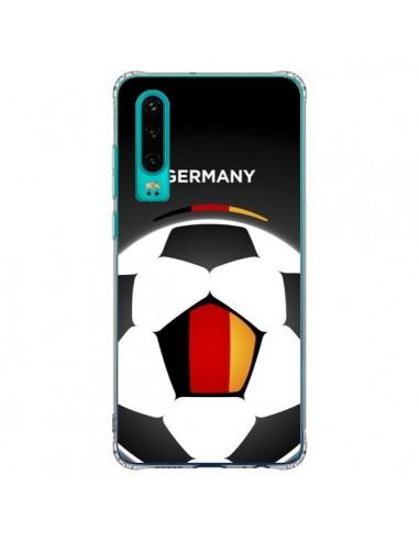 Coque Huawei P30 Allemagne Ballon...