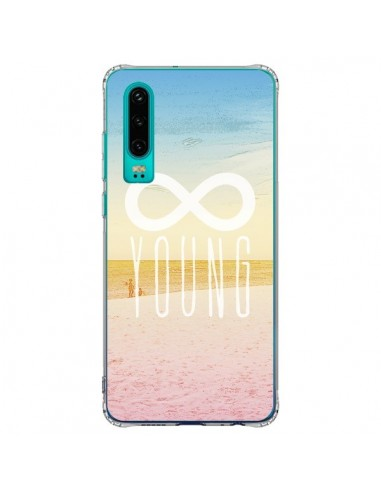 Coque Huawei P30 Forever Young Plage...