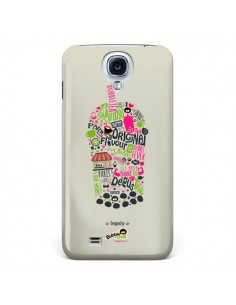 Coque Bubble Fever Original Flavour Beige pour Galaxy S4 - Bubble Fever
