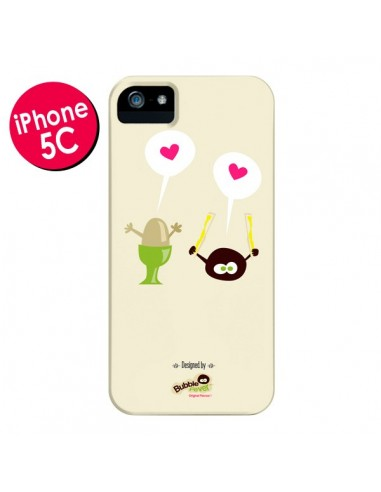 Coque Oeuf a la coque Bubble Fever pour iPhone 5C - Bubble Fever