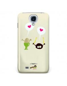 Coque Oeuf a la coque Bubble Fever pour Galaxy S4 - Bubble Fever