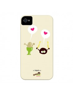 Coque Oeuf a la coque Bubble Fever pour iPhone 4 et 4S - Bubble Fever
