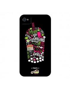 Coque Bubble Fever Original Flavour Noir pour iPhone 4 et 4S - Bubble Fever