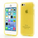 Coque Transparente de Couleurs en Silicone pour iPhone 5C