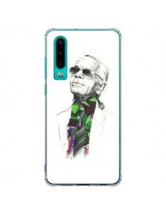 Coque Huawei P30 Karl Lagerfeld Fashion Mode Designer - Percy