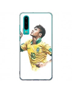 Coque Huawei P30 Neymar Footballer - Percy
