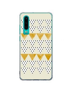 Coque Huawei P30 Triangles Or Garland Gold - Pura Vida