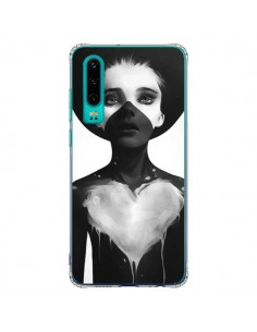Coque Huawei P30 Fille Coeur Hold On - Ruben Ireland