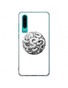 Coque Huawei P30 Boule Tentacule Octopus Poulpe - Senor Octopus