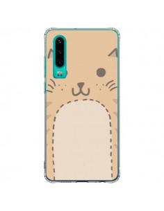 Coque Huawei P30 Big Cat chat - Santiago Taberna