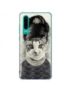 Coque Huawei P30 Audrey Cat Chat - Tipsy Eyes